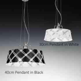 196.140.73-196.130.64 Metallux Corallo Range  1 Light Pendant, Ceiling Lamp Oxfordshire