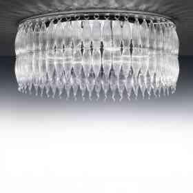 207.390.01 Metallux Arena Range  6 Light Flush Lamp Oxfordshire