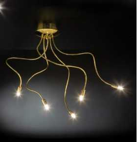 130.105.00 Metallux Free Spirit Range  5 Light Wall, Ceiling Lamp Oxfordshire