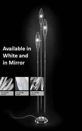 227.733.01 Metallux Flo Range  3 Light Floor Lamp Oxfordshire